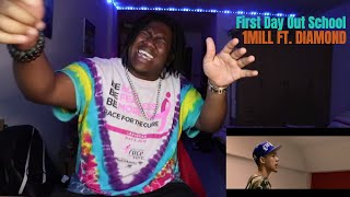 1MILL - FIRST DAY OUT SCHOOL FT. DIAMOND| Reaction by The Black Kid