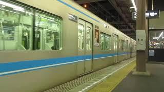 名古屋市営地下鉄鶴舞線N3000系第一編成 上小田井駅を発車