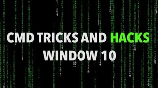 amazing command prompt cmd tricks and hacks for window 10