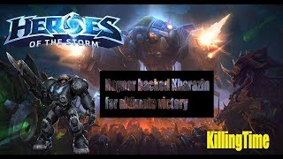 KillingTime | Heroes of the Storm | Raynor with awesome Abathur and Hanzo
