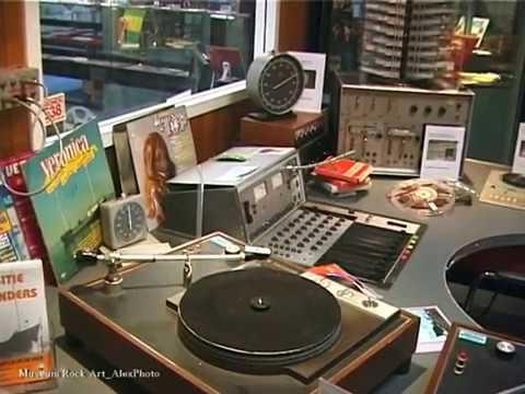 Radio Veronica Studio at Museum Rock Art Offshore Radio