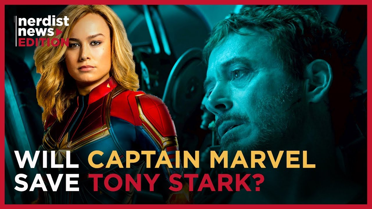 How Captain Marvel Will Rescue Iron Man In Avengers Endgame