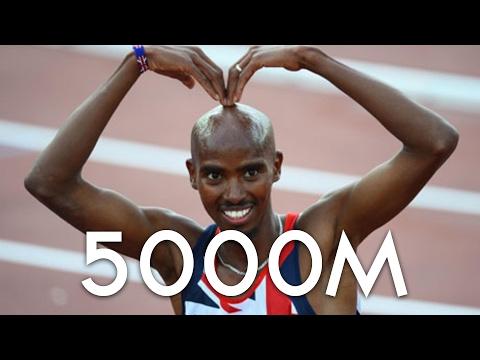 Mo Farah wins 5000m Müller Indoor Grand Prix Birmingham 2017