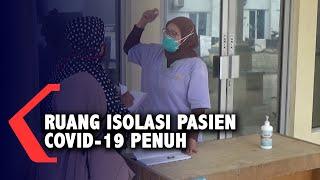 Mengagetkan!!! Ruang Isolasi Pasien Covid-19 di Medan Penuh