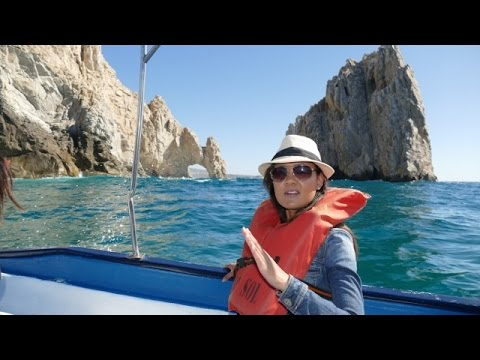 El Arco de Cabo San Lucas from Crown Princess cruise 4K