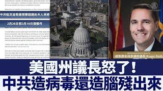 中領館私信美國州議長求表揚 議長怒斥「腦殘」|新唐人亞太電視|20200415