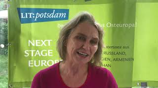 """""""Next Stage Europe"""": Grußwort von Sabine Haack"""