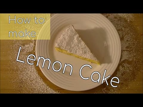 Lemon Sponge Cake (Lemon Drop Cake)(cake Recipe)(gluten Free)(cook Better)