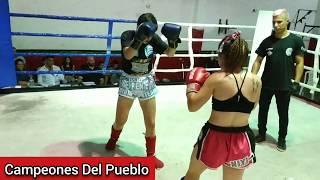 🥊Milagros Galeano Vs Milena Mora - K1 - SEMI PRO - Campeones Del Pueblo - Siempre Humilde - CDP