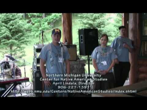 2009 Zaagkii Project #1: Students Make Bee Houses, Plant Native Species Plants
