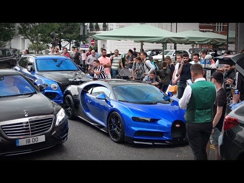 Bugatti Chiron Sport Causes Chaos in Central London
