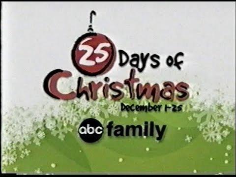 Abc Family 25 Days Of Christmas.Abc Family 25 Days Of Christmas Promo 2005