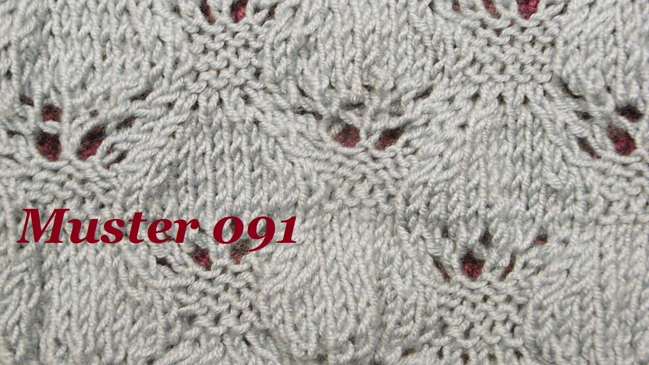 muster 091 stricken lernen ajourmuster muster f r pullover. Black Bedroom Furniture Sets. Home Design Ideas