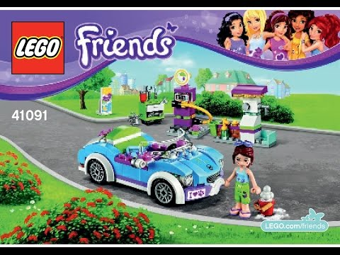 Instructions For Lego Friends Cruiser Car