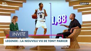 Légende : la nouvelle vie de Tony Parker - Bonsoir ! du 22/06 - CANAL+