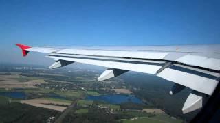 Air Berlin Airbus A319-100 DUS-HAM (2) Takeoff Part 2/4
