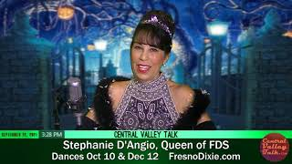 Halloween Ball & More Dances in Fresno • Stephanie D'Angio, Queen of FDS & Spokesperson for CCBBDS