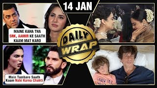 Deepika REJECTS Ranveer's Film, Salman WARNS Katrina, Kangana Rekha Bonding | Top 10 News