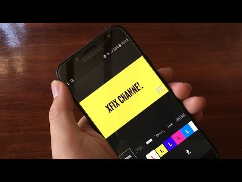 How to make an intro video by phone