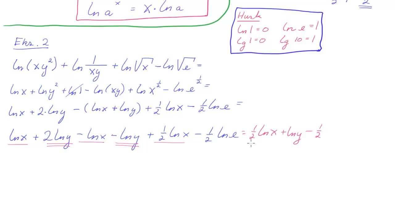 R1-067 Tallet e  og naturlige logaritmer