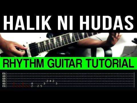 Halik Ni Hudas - Wolfgang RHYTHM ONLY Guitar Tutorial