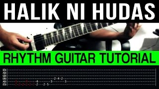 Halik Ni Hudas - Wolfgang RHYTHM ONLY Guitar Tutorial