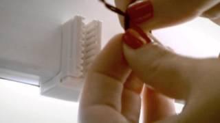 Установка шторы плиссе Vidella(Новинка от польского концерна Decora - шторы плиссе! Кроме необычного дизайна, их преимущество состоит в том,..., 2012-03-15T12:57:56.000Z)
