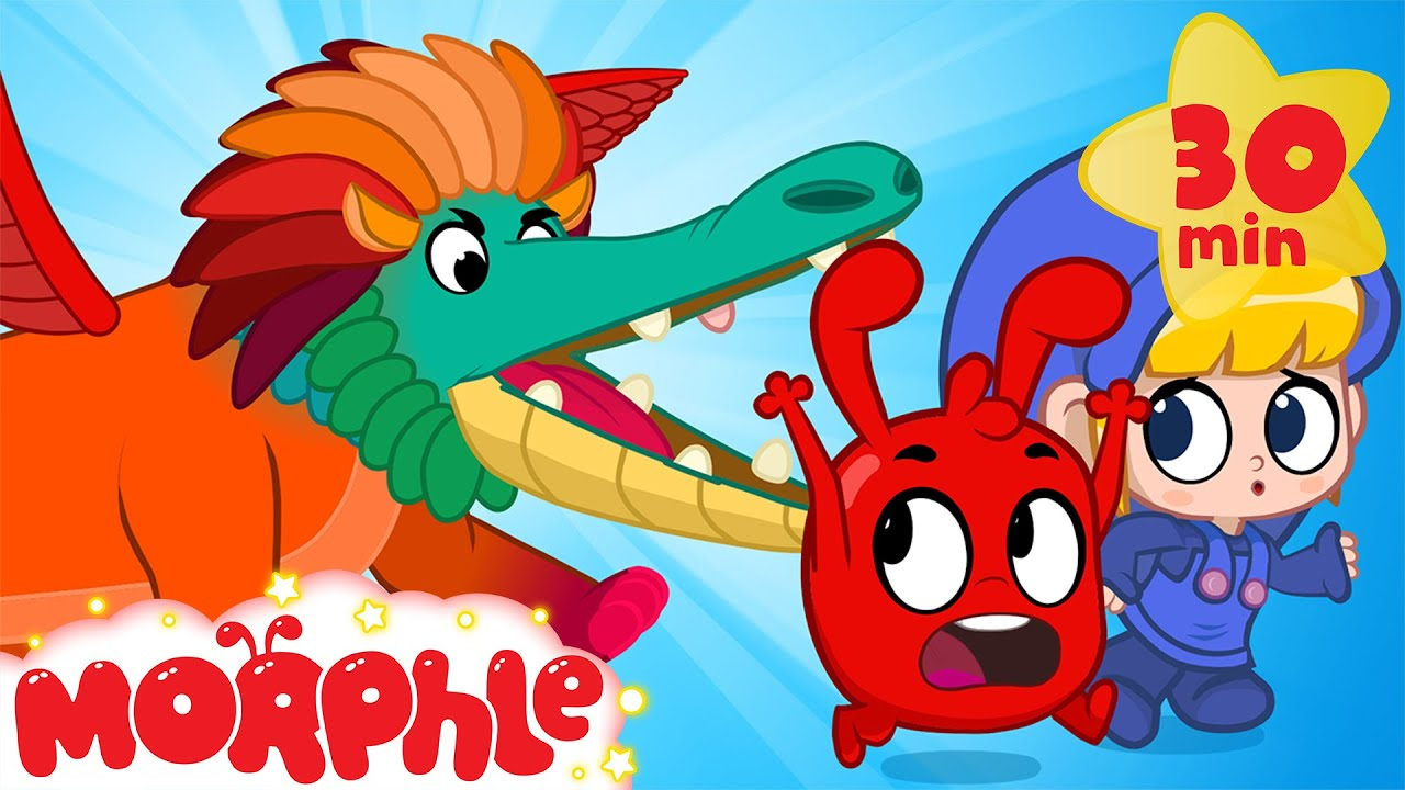 Morphle and the Painting Monster - Cartoons for Kids | My Magic Pet Morphle