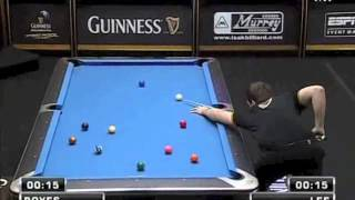 Guinness World Speed Pool 2012 - Karl Boyes vs Lee Chenman