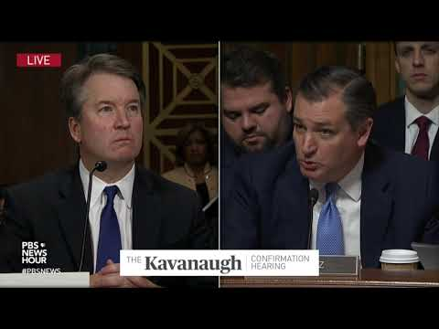 Cruz: Committee treated Ford with respect, but Democrats aren't respecting Kavanaugh