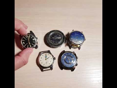 Как продавать на ebay. Часы СССР. Часы Командирские. USSR Watch. Soviet watch. Watch Komandirskie