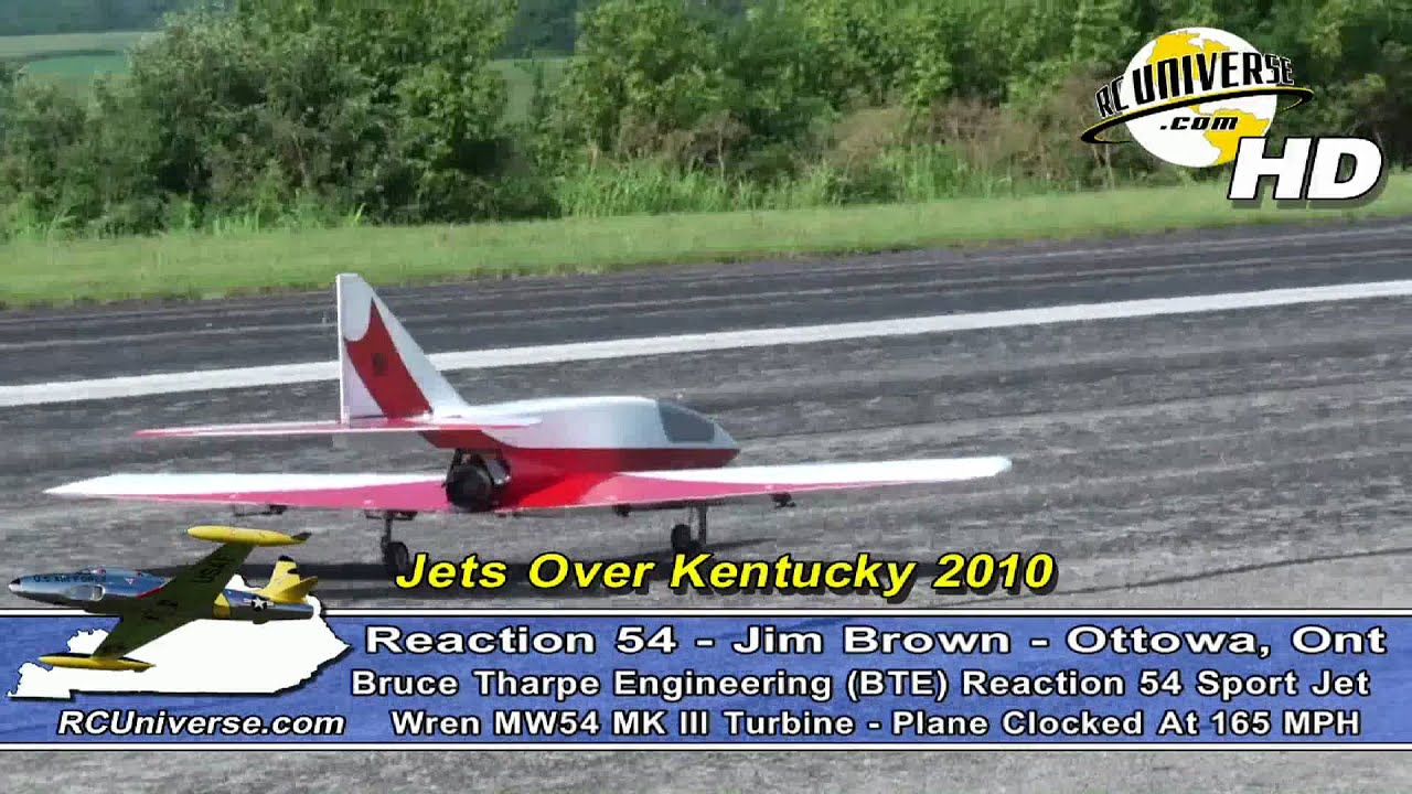 Jets Over Kentucky 2010 - BTE Reaction 54, JIm Brown