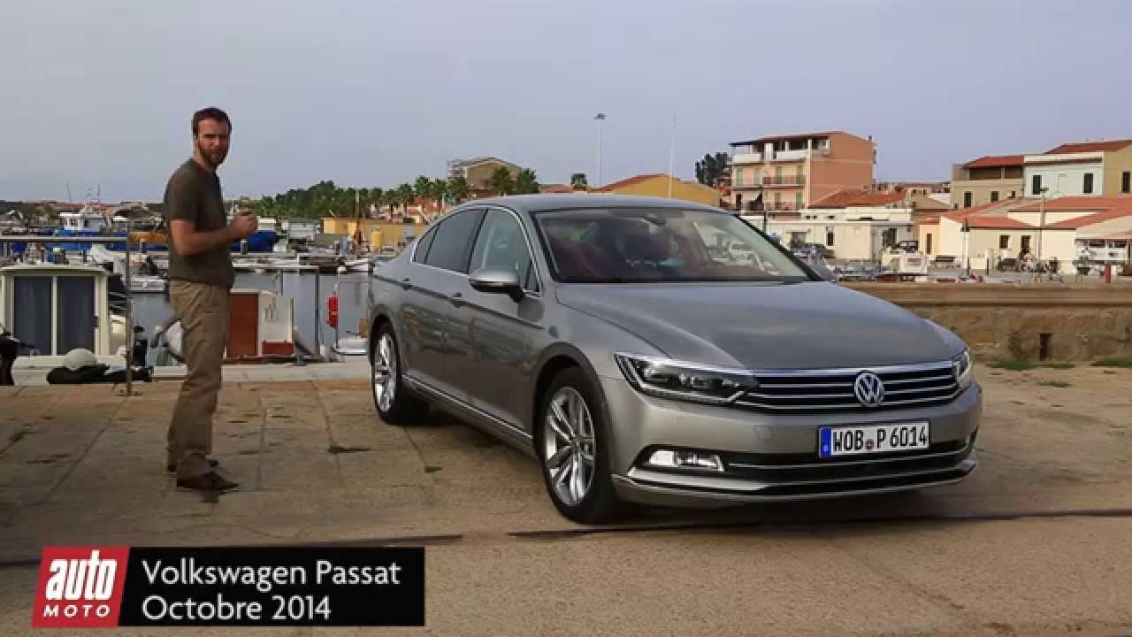 nouvelle volkswagen passat 8 2015 essai complet youtube. Black Bedroom Furniture Sets. Home Design Ideas
