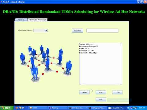 Distributed Randomized TDMA Scheduling for Wireless Ad Hoc Networks