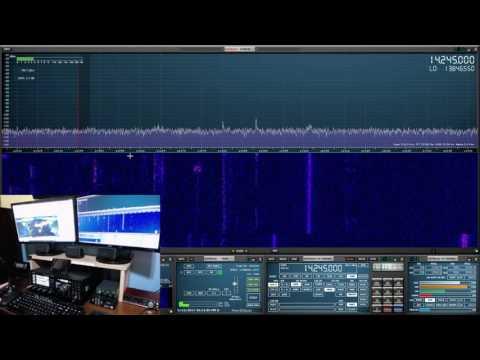 SDRuno, FTDX 3000, Omnirig & LOG4OM Logger In Action (MV012)