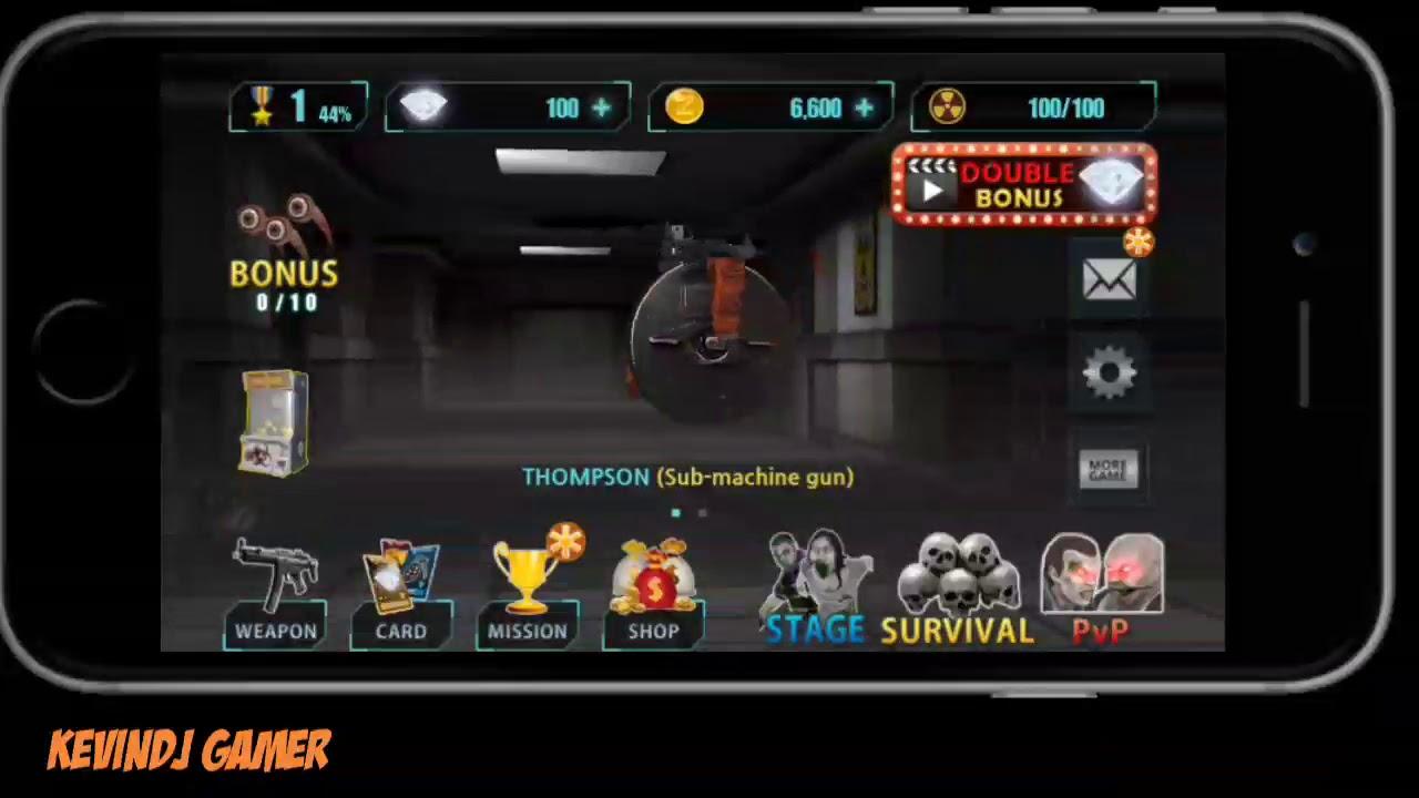 download game zombie hunter king mod apk revdl
