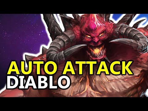 ♥ Diablo AA Build is RIDICULOUS - Heroes of the Storm (HotS Gameplay)