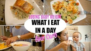 WHAT I EAT IN A DAY | WEIGHT LOSS | QUICK &  HEALTHY OPTIONS (LOW CARB)