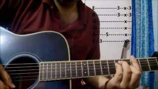 Gerua Guitar Lesson | Dilwale | Intro | Arijit Singh