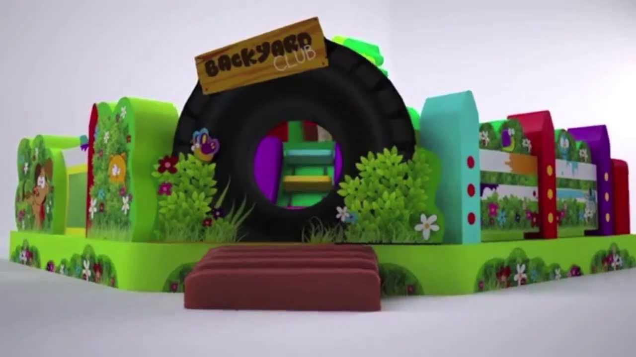 Backyard Toddler Combo, Rent Backyard Inflatable Combo 800 873 8989