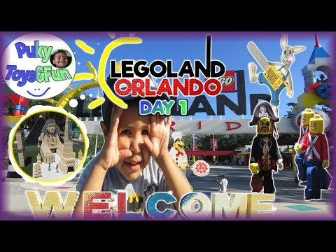 🎢Exploring LEGOLAND for Treasure, Pirates, Legos, and Lil Cities, a Preschooler's first time -Puky