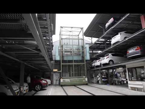 Kyoto car park