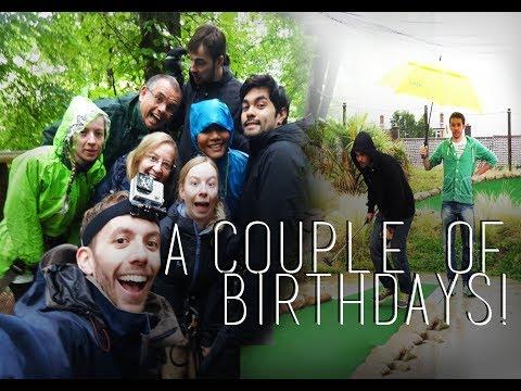 A Couple of Birthdays! - Neil's, My Twin's  & My Birthday Vlogs :)