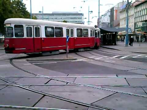 Straßenbahn Linie 25, 31 Floridsdorf in Wien