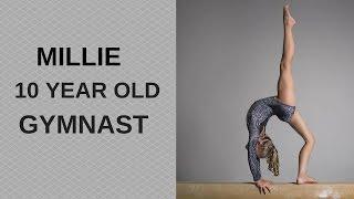 millie a 10 year old gymnast