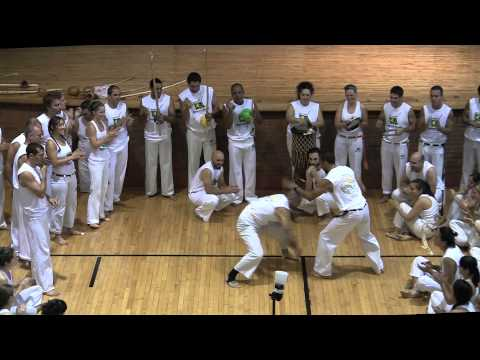Raízes do Brasil Capoeira Brooklyn Batizado - Raw/Yellow Cords