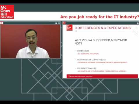 How to get job ready for the IT industry