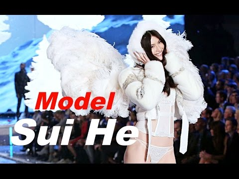 The First Asian Model with Wings - Victoria's Secret - SUI HE [HD]