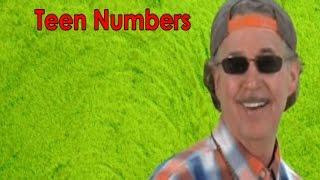 Teen Numbers   Numbers in the Teens   Teen Numbers Rap   Jack Hartmann