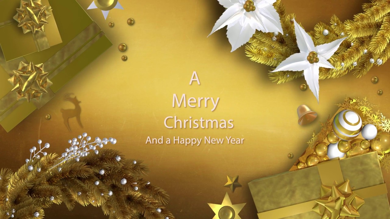 2017 Christmas And New Year Greetings With Your Company Logo And